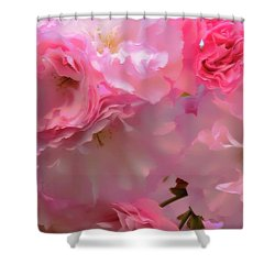 Spring With A Cherry On Top Shower Curtain