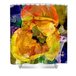 Spring Xx Shower Curtain