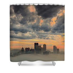 Springfield Pittsburgh Pa Shower Curtain