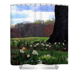 Springing Forward At Edgemont Golf Course Shower Curtain