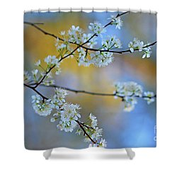 Springing To Life Shower Curtain