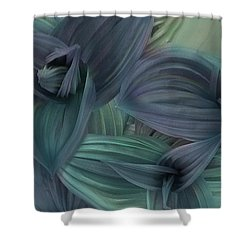 Springs First Blossom Shower Curtain