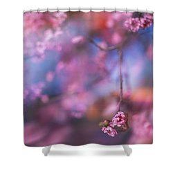 Spring's Rhythms Shower Curtain