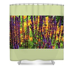 Shower Curtain featuring the photograph Floral Peek-a-boo At North Mountain Park by Brooks Garten Hauschild