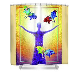 Springtime Shower Curtain by Hartmut Jager