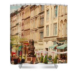 Springtime In Halifax Shower Curtain by Jeff Kolker