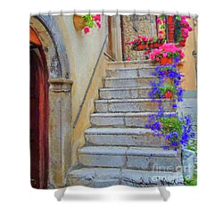 Springtime In Italy  Shower Curtain
