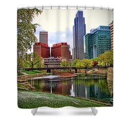 Springtime In Omaha Shower Curtain