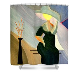 Springtime In Paris Shower Curtain