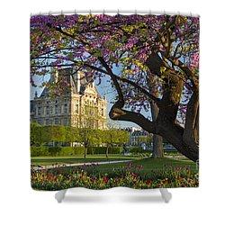 Springtime In Paris Shower Curtain