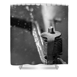 Shower Curtain featuring the photograph Sprinkler by Wade Brooks
