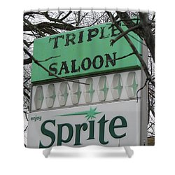 Sprite Shower Curtain