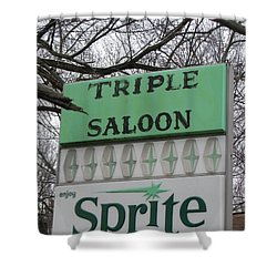Sprite Soda Pop Shower Curtain