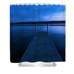 Springbrook Lake At Dawn Shower Curtain