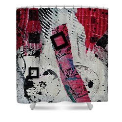 Square Root 4 Shower Curtain