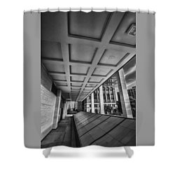 Squares Of Architecture   Shower Curtain