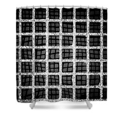 Shower Curtain featuring the photograph Squaresville by Tom Vaughan