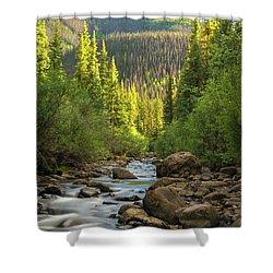 Squaw Creek, Colorado #2 Shower Curtain