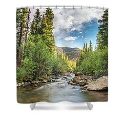 Squaw Creek, Colorado Shower Curtain