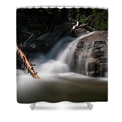 Shower Curtain featuring the photograph Squaw Creek by Sean Foster