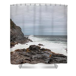 Squeaker Cove Shower Curtain