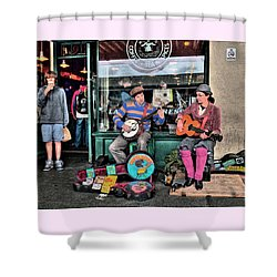 Squirrel Butter And Coffee, Fine Art Print  Shower Curtain by Greg Sigrist