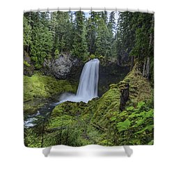 Sahalie Falls,oregon Shower Curtain