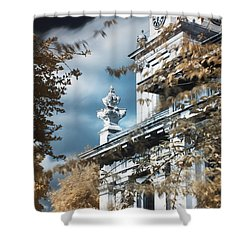 St Alfege Parish Church In Greenwich, London Shower Curtain