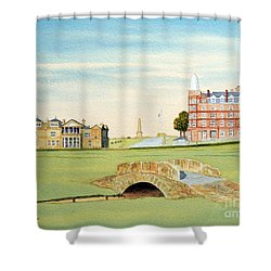 St Andrews Golf Course Scotland Classic View Shower Curtain