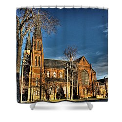 St. Annes Detroit Mi Shower Curtain