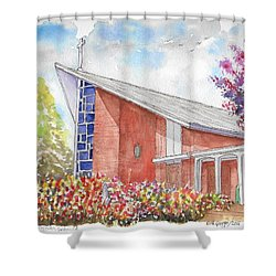 St. Anthony Of Padua Catholic Church, Gardena, California Shower Curtain