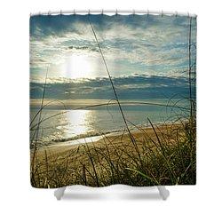 St Aug Sunrise Shower Curtain