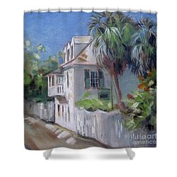 St. Augustine Aviles Street Florida Shower Curtain