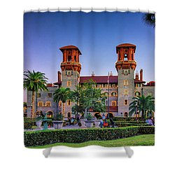 St. Augustine, Fl - Lightner Lights Shower Curtain