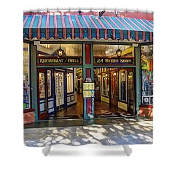 St Augustine Indoor Mall Shower Curtain