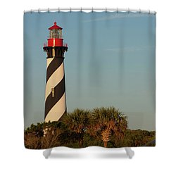 St. Augustine Lighthouse #3 Shower Curtain