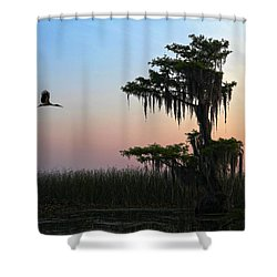 St Augustine Morning Shower Curtain