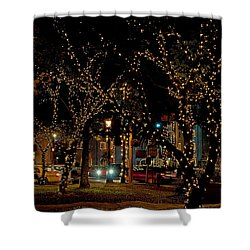 St. Augustinelights3 Shower Curtain