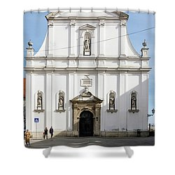 St. Catherine's Church Shower Curtain
