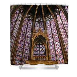 St Chapelle Paris Shower Curtain