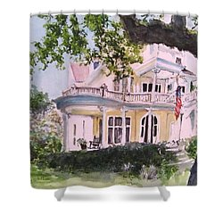 St Charles @ Valance New Orleans Shower Curtain