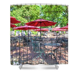 St. Charles Umbrellas Shower Curtain