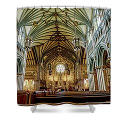 St Dunstan's Cathedral  Shower Curtain