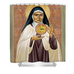 St. Edith Stein Of Auschwitz - Rleds Shower Curtain