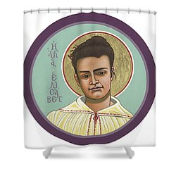 Shower Curtain featuring the painting St Elizabeth Of The Trinity- 295 by William Hart McNichols