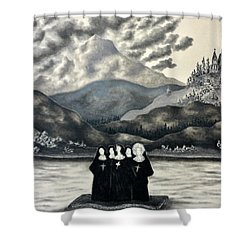 St. Franchea In Arran Shower Curtain