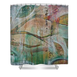 Shower Curtain featuring the painting St Francis 2 by Jocelyn Friis