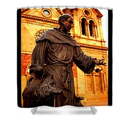 Cathedral Basilica Of St. Francis Of Assisi Shower Curtain