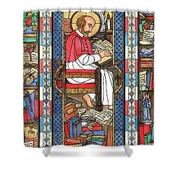 St. Francis De Sales Shower Curtain