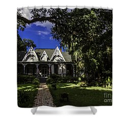 St Francisville Inn And Restaurant Shower Curtain by Ken Frischkorn